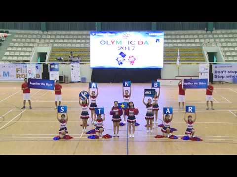 Shinhan Bank Vietnam Olympic 2017 - Cheer Dance HNB