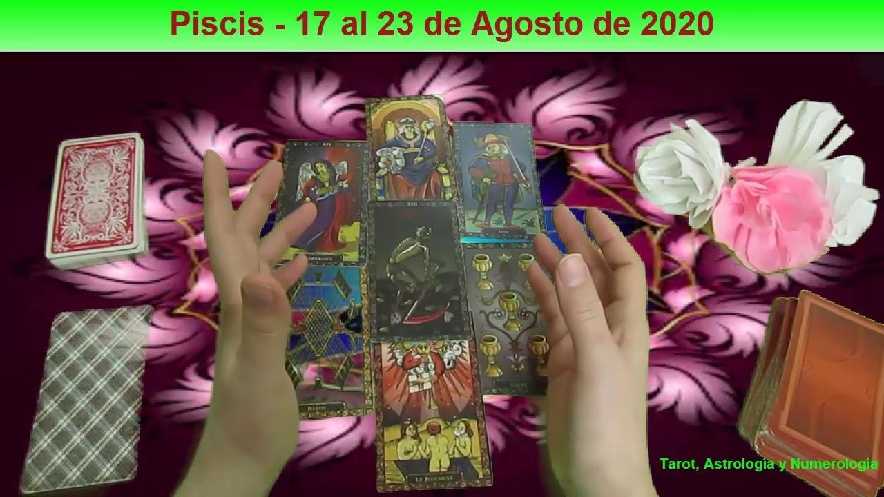 Piscis- 17 al 232 de agosto de 2020-Despiertas A Una Vida Nueva