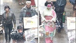 《攻殼機動隊》拍攝現場直擊 詭異藝伎跟實施嘉莉