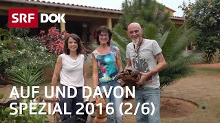 Claudio Candrian und Teres Brunett in Venezuela Auf und davon Spezial Folge 2