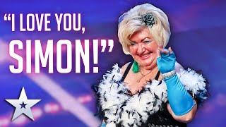 Unforgettable Audition: Lili Davies confesses her LOVE for SIMON COWELL! | Britain's Got Talent