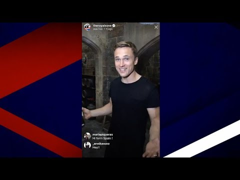 Behind the Palace Gates with William Moseley  Live 1
