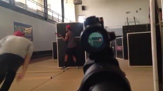 Play Laser Tag In The Military