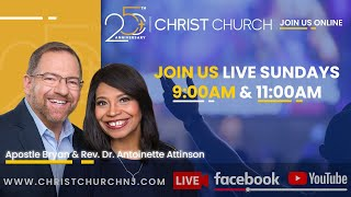 Christ Church Online | Sunday 11am | In The Father's House | Rev. Dr. Antoinette Attinson