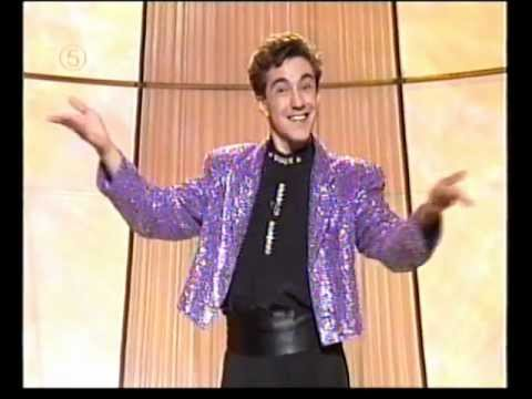 Jonathan Miller appearing on The Big Stage with Bradley Walsh