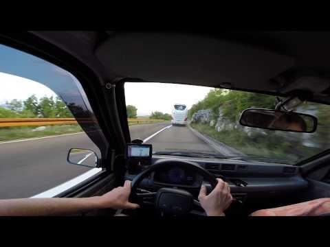 GoPro POV: Drive Daewoo Tico - Montenegro | E762