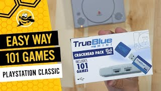 True Blue Mini for the Playstation Classic: How to Easily Add 101 Games