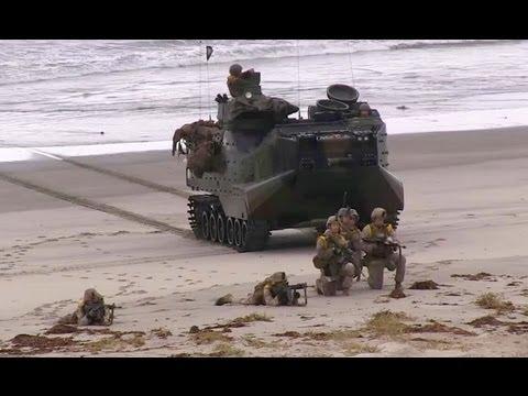 U.S. Marine Beach Assault
