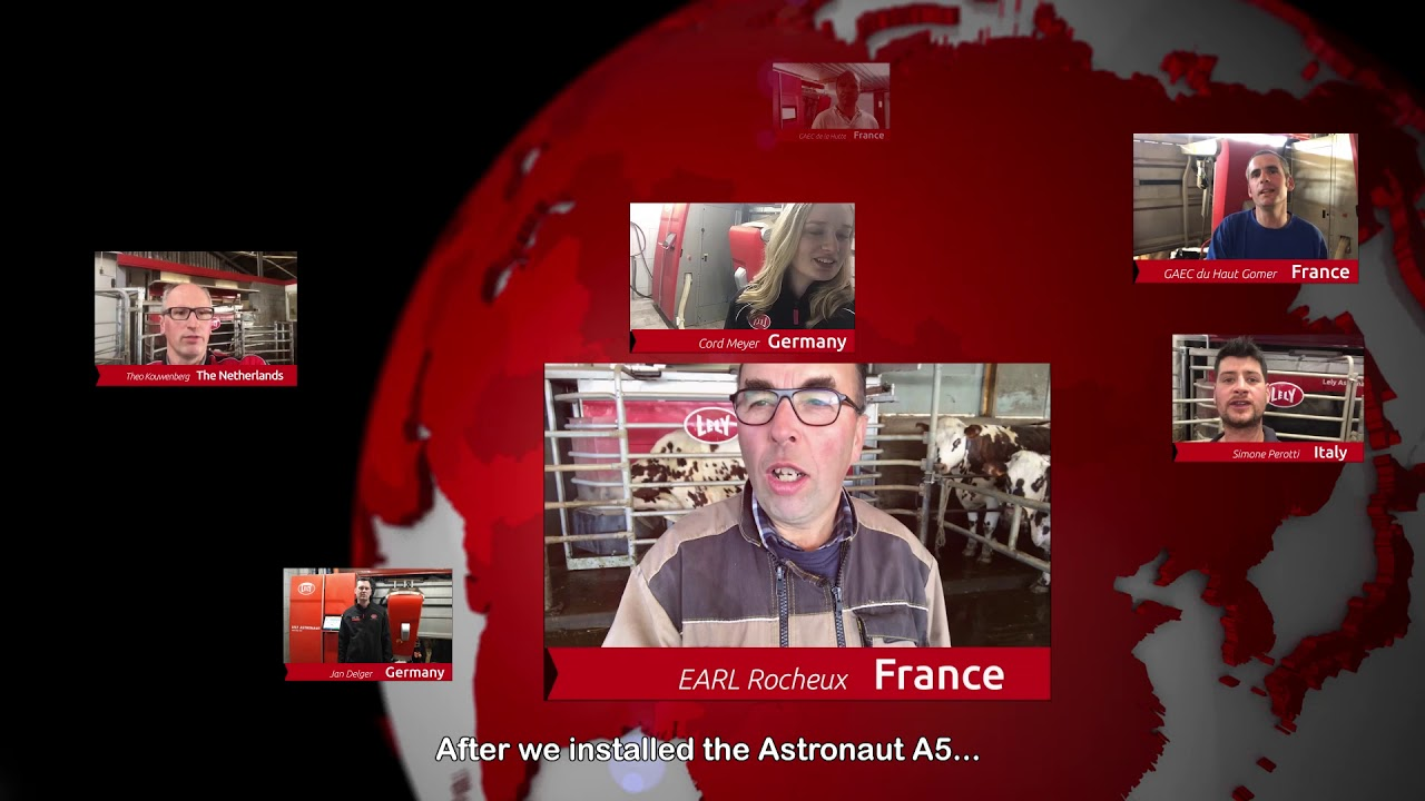 Lely Astronaut A5 – One year experiences – video 1 (EN)