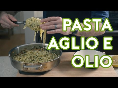 "Binging with Babish: Pasta Aglio e Olio from ""Chef"""