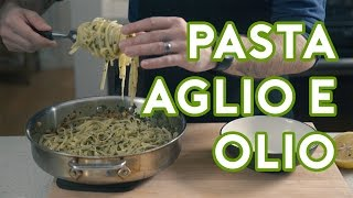 Binging with Babish: Pasta Aglio e Olio from