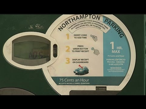 Credit card, smartphone app parking payment options possible in Northampton