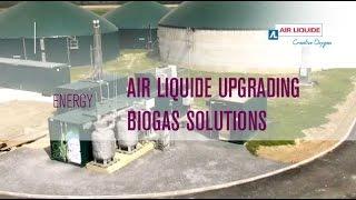 Air Liquide upgrading biogas solutions