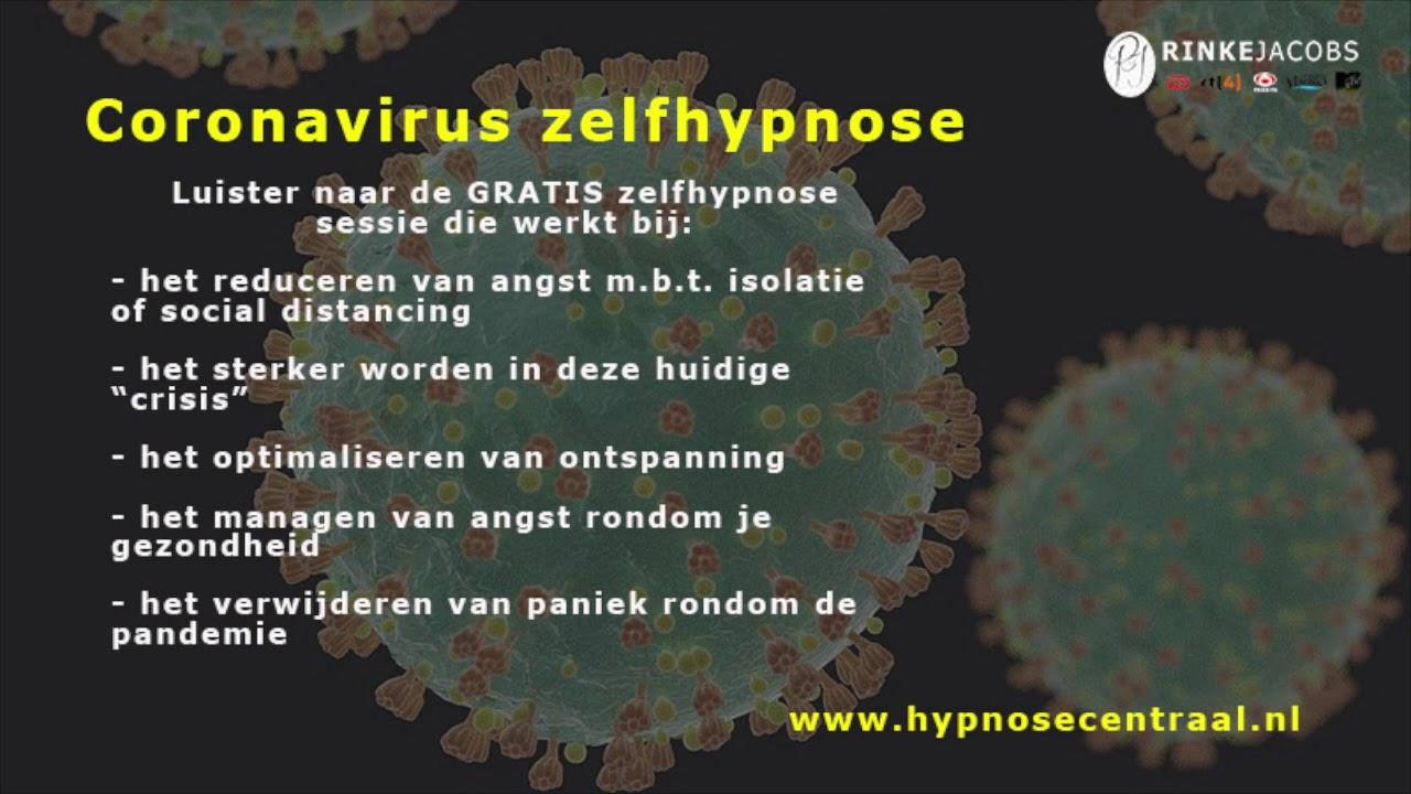 Zelfhypnose Coronavirus (COVID-19) - GRATIS!