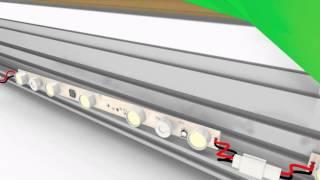 видео световые короба