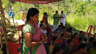 Belaguru Gurulu Performing Bhajan at Siddharabetta.