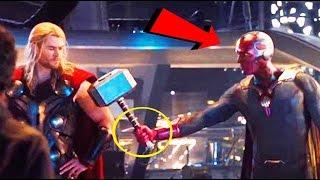 ¿Por Qué Vision Puede Levantar el Martillo de Thor?