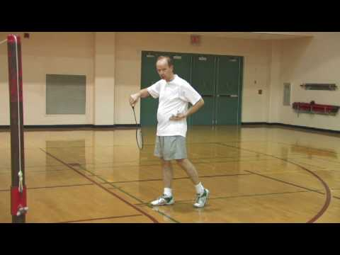 Advanced Badminton Techniques : How to Hit a Backhand Serve in Badminton