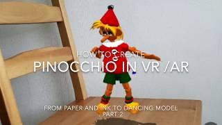 Wie erstellen Pinocchio in VR / AR . Teil 2