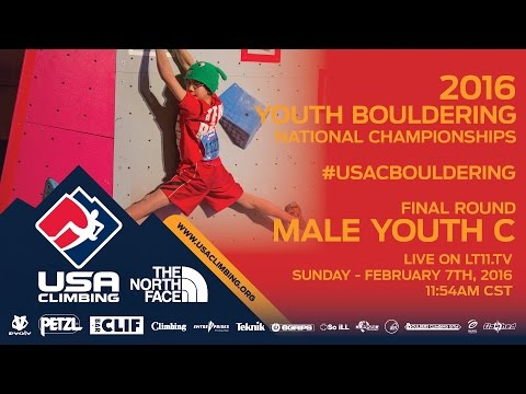 Male Youth C • Finals • Sunday February 7th 2016 • LIVE 11:54AM CST