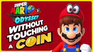 Is it possible to beat Super Mario Odyssey without touching a single coin?