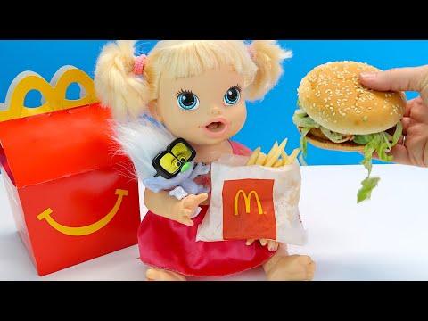 #Куклы КОРОБОЧКА ХЭППИ МИЛ С ИГРУШКОЙ для Пупсика Мультики Для детей Как Мама 108мама тв