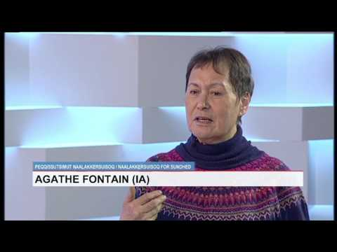 Live med Agathe Fontain 14 03 2017