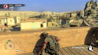 Sniper Elite 3: Team Distance King: Ghost Town (PS4)