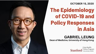 "In the ahpp's opening webinar event their 2020-21 colloquim series, ""health, medicine, and longevity: exploring public private roles,"" gabirel leung p..."