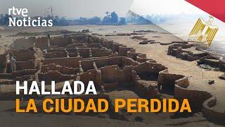 EGIPTO anuncia el descubrimiento de una antigua CIUDAD DORADA de LUXOR de hace 3.000 años | RTVE