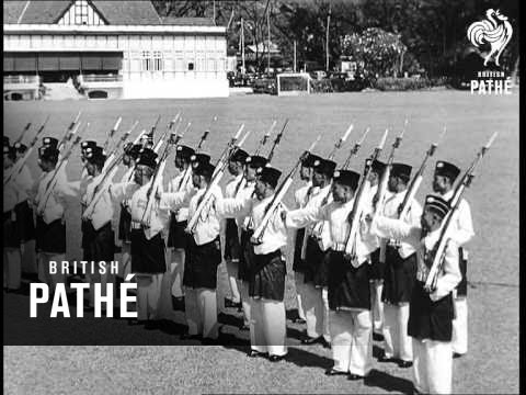 Malayan Regiment Comes Of Age (1954)