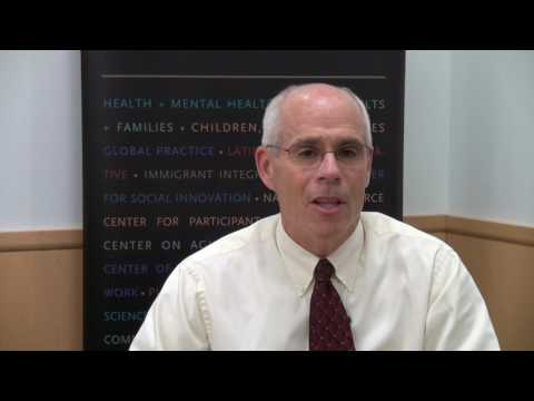 Welcome from Professor Paul Kline - Boston College School of Social Work - Video
