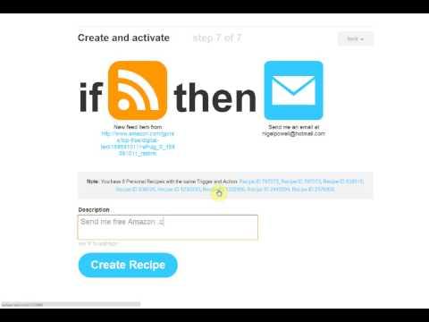 Get Alerts for Best Seller Kindle Ebooks in Favorite Genres with IFTTT