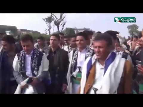رقصات وإحتفلات فلكلورية في عرس يمني من طراز فريد