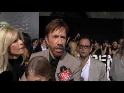 "Chuck Norris and his family - ""The Expendables 2"" Premiere in L.A. - 2012 #3"