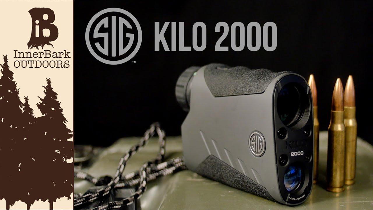 Best In Class Rangefinder: Sig Kilo 2000