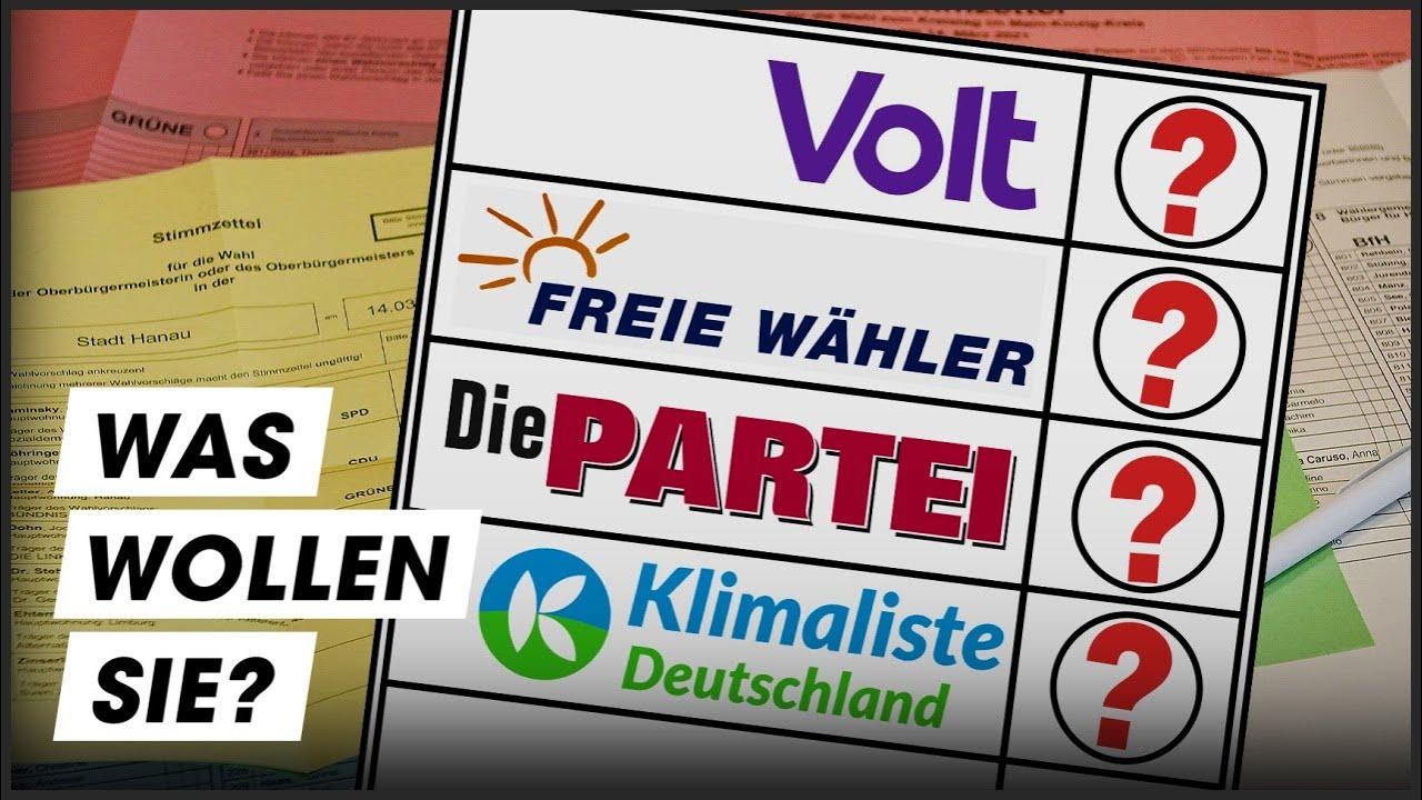 Download Die Partei, Volt und Co: Kleinparteien im Check!