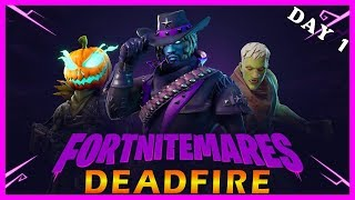 "FORTNITEMARES EVENT LIVE: DAY 1 - NEW ""DEADFIRE"" SKIN in FORTNITE // Playing With SUBSCRIBERS"