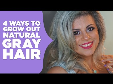 How To Grow Out Natural Gray Hair