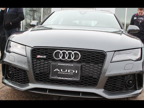 Top of the Line-2015 SILVER AUDI RS7-1080p HD @Carousell AUDI - YouTube