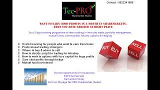 TECPRO sharemarket studies