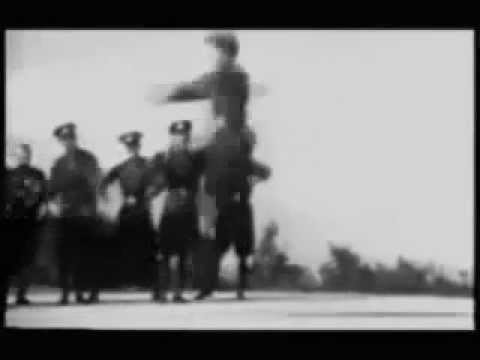 Crystal Castles - Air War (with cossack(?) dancers)