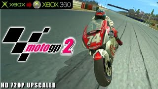 Motogp 2 - Gameplay Xbox HD 720P (Xbox to Xbox 360)