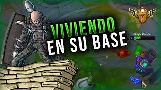 ¡VIVIENDO EN LA BASE DEL ENEMIGO! | PROXY FARM DOBLE PERMANENTE | League of Legends