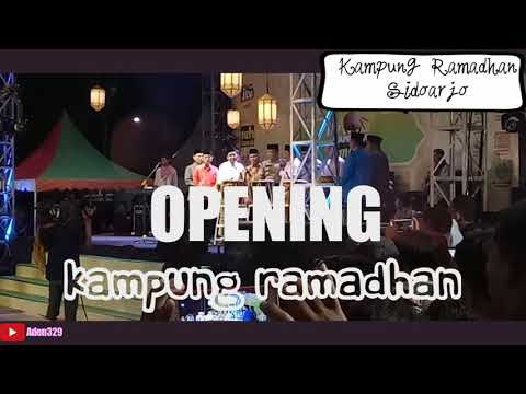 EXPLORE SIDOARJO    OPENING KAMPUNG RAMADHAN ALUN - ALUN SIDOARJO