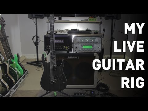 RIG RUNDOWN -- My Live Guitar Rig, Guitars, Amp, and Pedals