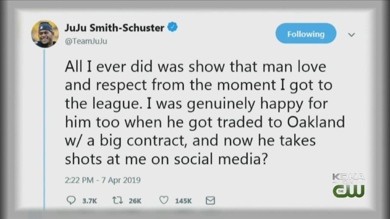Antonio Brown And Juju Smith Schuster Spar On Twitter