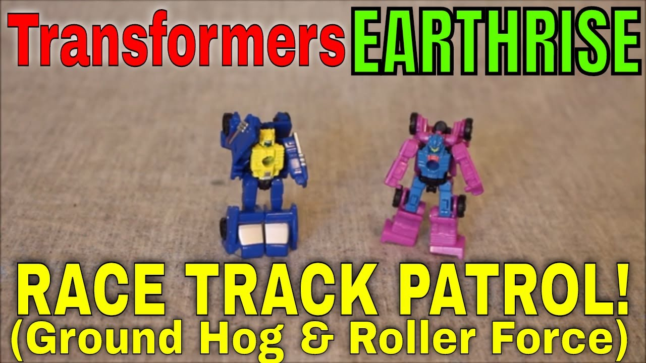 Engines Revved: Transformers Earthrise Race Track Patrol By GotBot