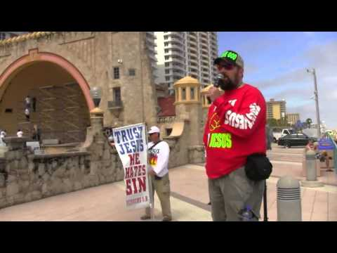 Daytona Beach Spring Break 2014 | Boardwalk Street Preaching | Kerrigan Skelly
