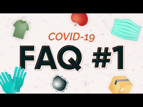 Coronavirus: 5 conseils pour faire ses courses en sécurité (FAQ #1)